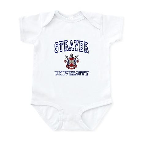 STRAYER University Infant Bodysuit