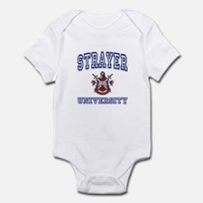 STRAYER University Infant Bodysuit