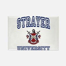 STRAYER University Rectangle Magnet