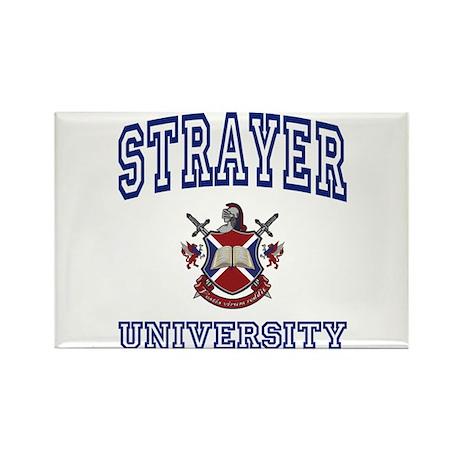 STRAYER University Rectangle Magnet (100 pack)