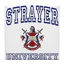 STRAYER University Tile Coaster