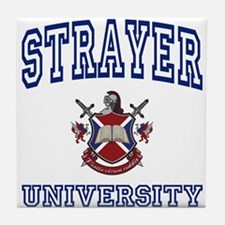 STRAYER University Tile Coaster