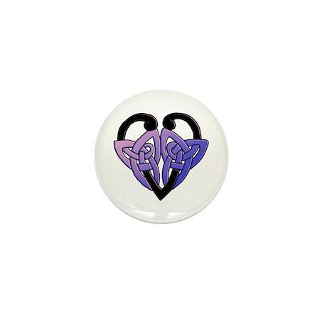 celtic heart 10 Mini Button (100 pack)