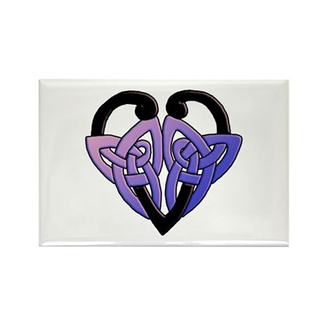 celtic heart 10 Rectangle Magnet (10 pack)