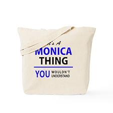 Cute Monica Tote Bag