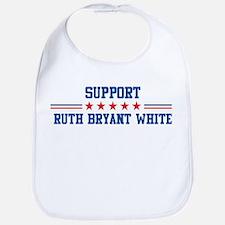 Support RUTH BRYANT WHITE Bib