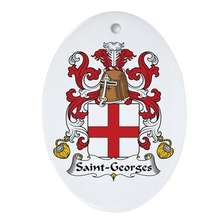 Saint-Georges Oval Ornament