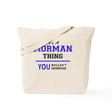 Funny Morman Tote Bag