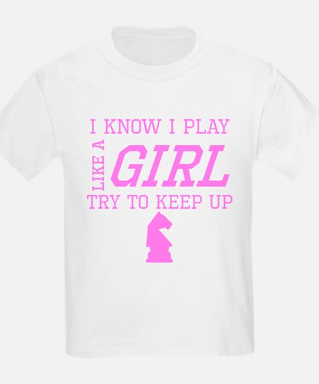 Chess Like A Girl T-Shirt