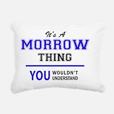 Cute Morrow Rectangular Canvas Pillow