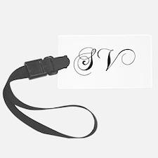 SV-cho black Luggage Tag