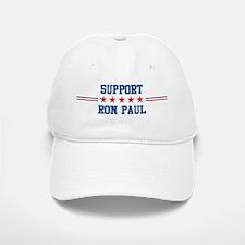 Support RON PAUL Baseball Baseball Cap