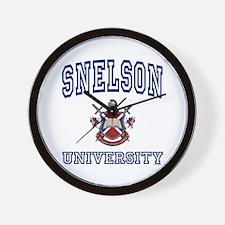 SNELSON University Wall Clock