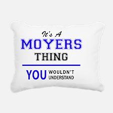 Funny Moyers Rectangular Canvas Pillow