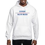 Support RALPH NADER Hooded Sweatshirt