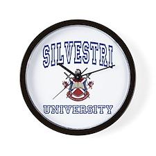 SILVESTRI University Wall Clock