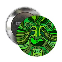 Green Man Button (100 pack)