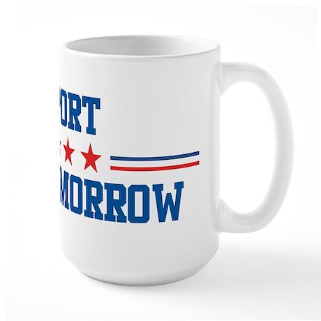 Support PHILLIP MORROW Large Mug