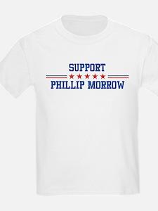Support PHILLIP MORROW T-Shirt