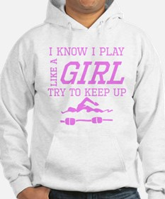 Swimming Like A Girl Hoodie