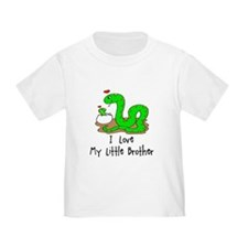 I love My Little Brother Baby T-Shirt