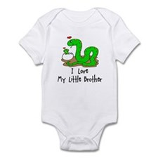 I love My Little Brother Baby/toddler bodysuits
