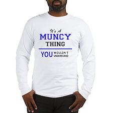 Cute Muncie Long Sleeve T-Shirt