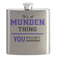 Unique Munden's Flask