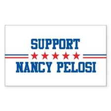 Support NANCY PELOSI Rectangle Decal