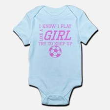 Soccer Like A Girl Body Suit
