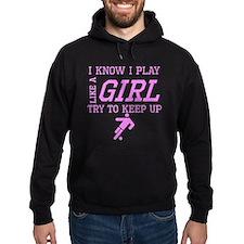 Soccer Like A Girl Hoodie