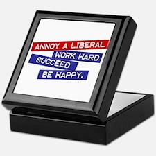 """Annoy a Liberal"" Keepsake Box"