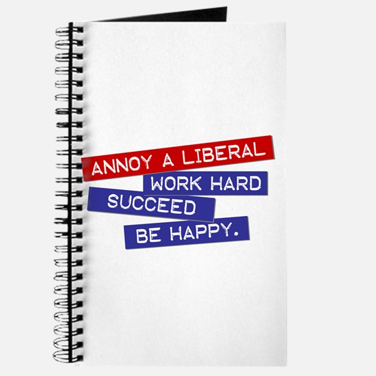 """""""Annoy a Liberal"""" Journal"""