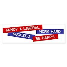 """""""Annoy a Liberal"""" Bumper Bumper Sticker"""