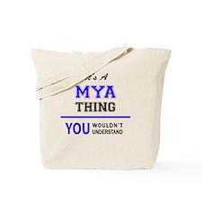 Cute Mya Tote Bag