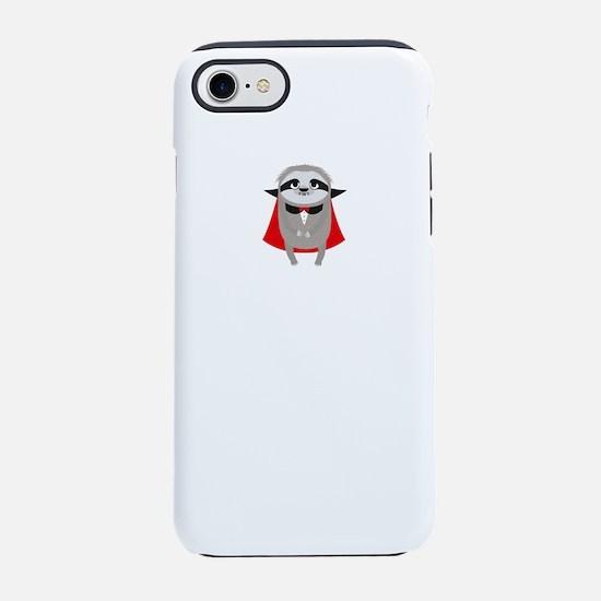 Sloth Vampire born in November iPhone 7 Tough Case