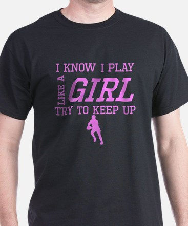 Rugby Like A Girl T-Shirt