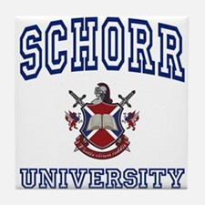 SCHORR University Tile Coaster