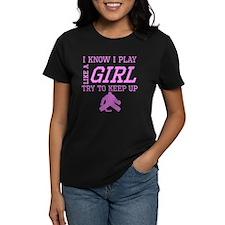 Hockey Like A Girl T-Shirt