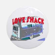 LOVE SHACK (TRAILER) Ornament (Round)