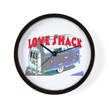 LOVE SHACK (TRAILER) Wall Clock