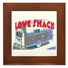 LOVE SHACK (TRAILER) Framed Tile