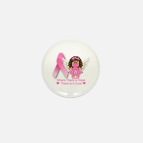 BREAST CANCER (HOPE) Mini Button (100 pack)