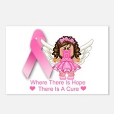 BREAST CANCER (HOPE) Postcards (Package of 8)