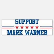 Support MARK WARNER Bumper Bumper Bumper Sticker