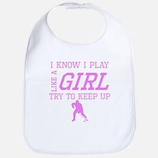 Hockey Like A Girl Bib