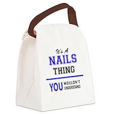 Unique Nailed it Canvas Lunch Bag