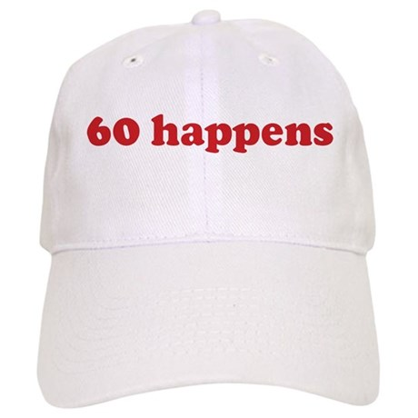 60 happens (red) Cap
