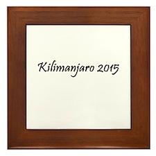 Kilimanjaro 2015 Framed Tile
