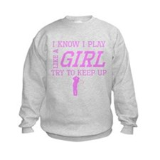 Golf Like A Girl Sweatshirt